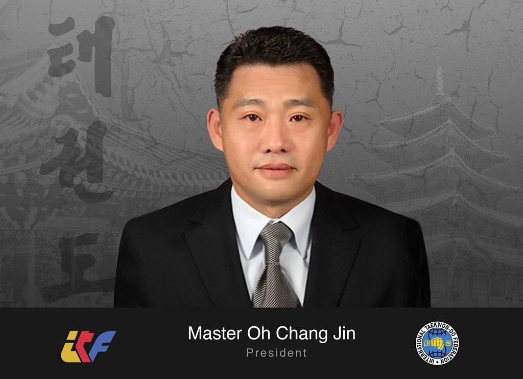 Master Oh Chang Jin President
